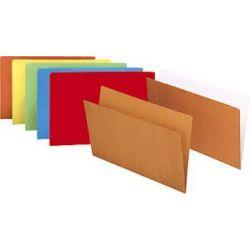 Subcarpetas GIO de Cartulina  Naranja Folio