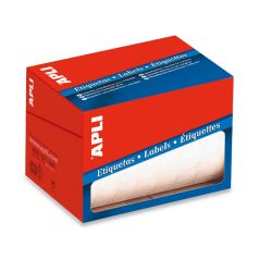 Etiquetas Adhesivas en Rollo  13x40 et/hoja 50