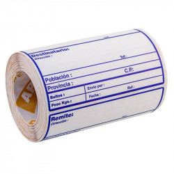 Etiquetas Adhesivas de  ENVIO