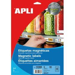 Etiquetas En Papel Magnético