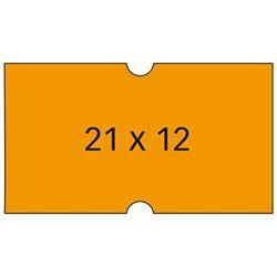 Etiquetas Apli Etiquetadora 21x12mm  Naranja P 21x12 mm