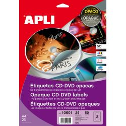 Etiquetas Para  CD-DVD 117mm