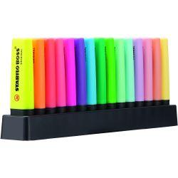 MARCADOR  BOSS 9 fluor + 6 pastel